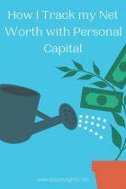 How Personal Capital Tracks my Net Worth